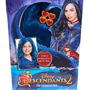 DISNEY DESCENDANTS 2 NEW Evie Blue Character Wig